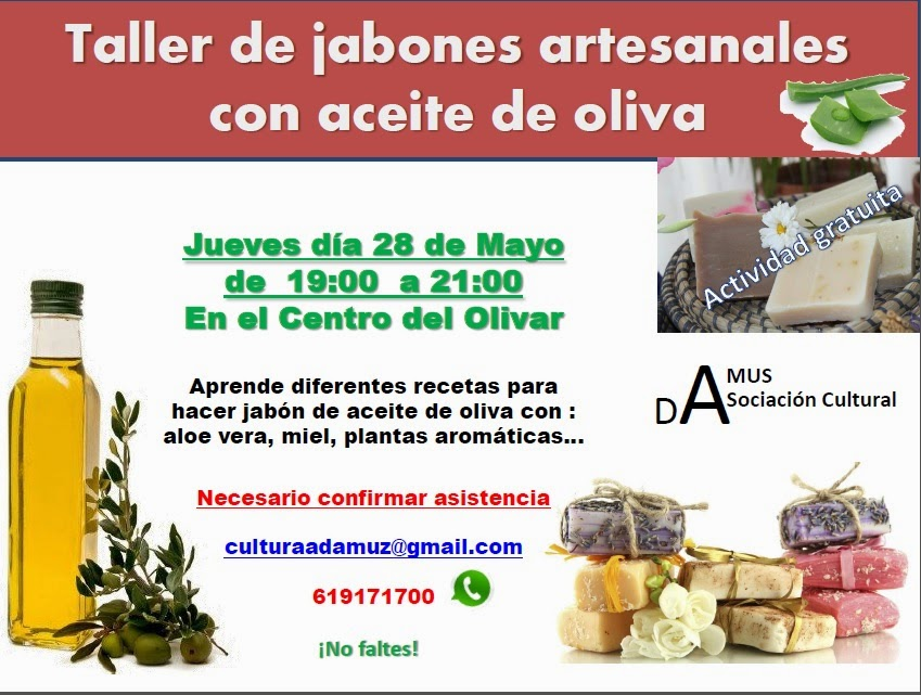 Historia y cultura de adamuz primer mayo cultural con for Talleres artesanales