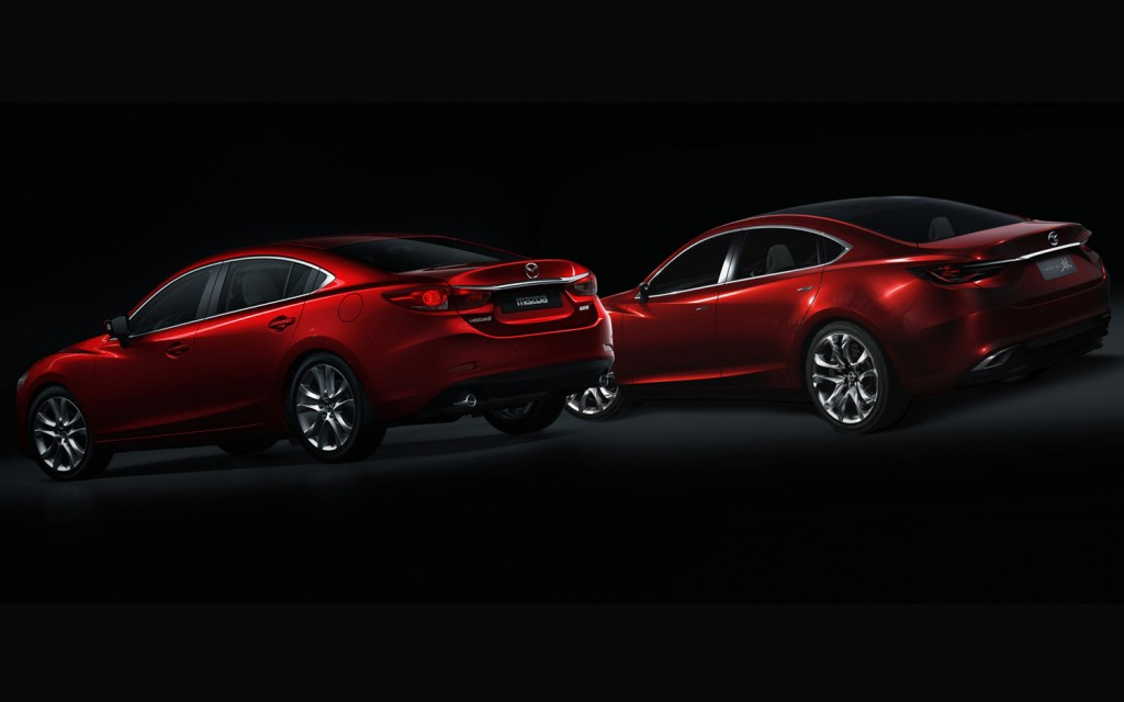Takeri Concept Versus The 2014 Mazda 6: Can You Spot The Differences?