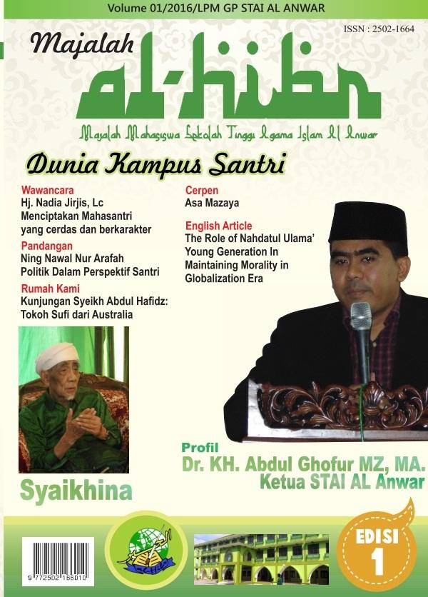 Majalah STAI Al Anwar