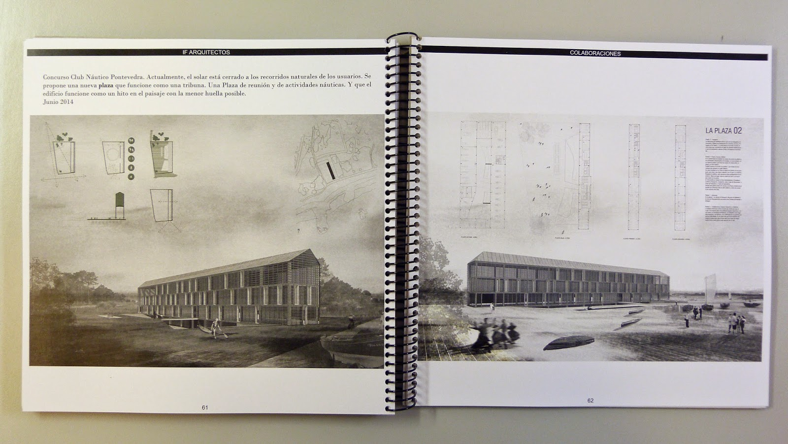 Cr nicas de un estudiante de arquitectura mi primer for Portafolio arquitectura
