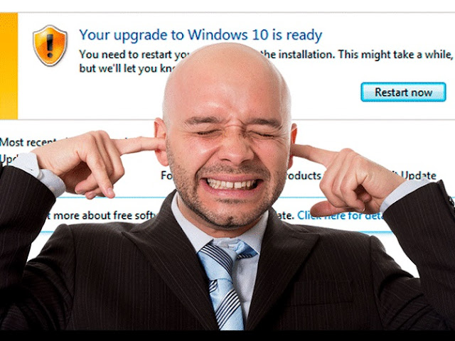 "Microsoft ""Forced"" update To Windows 10"