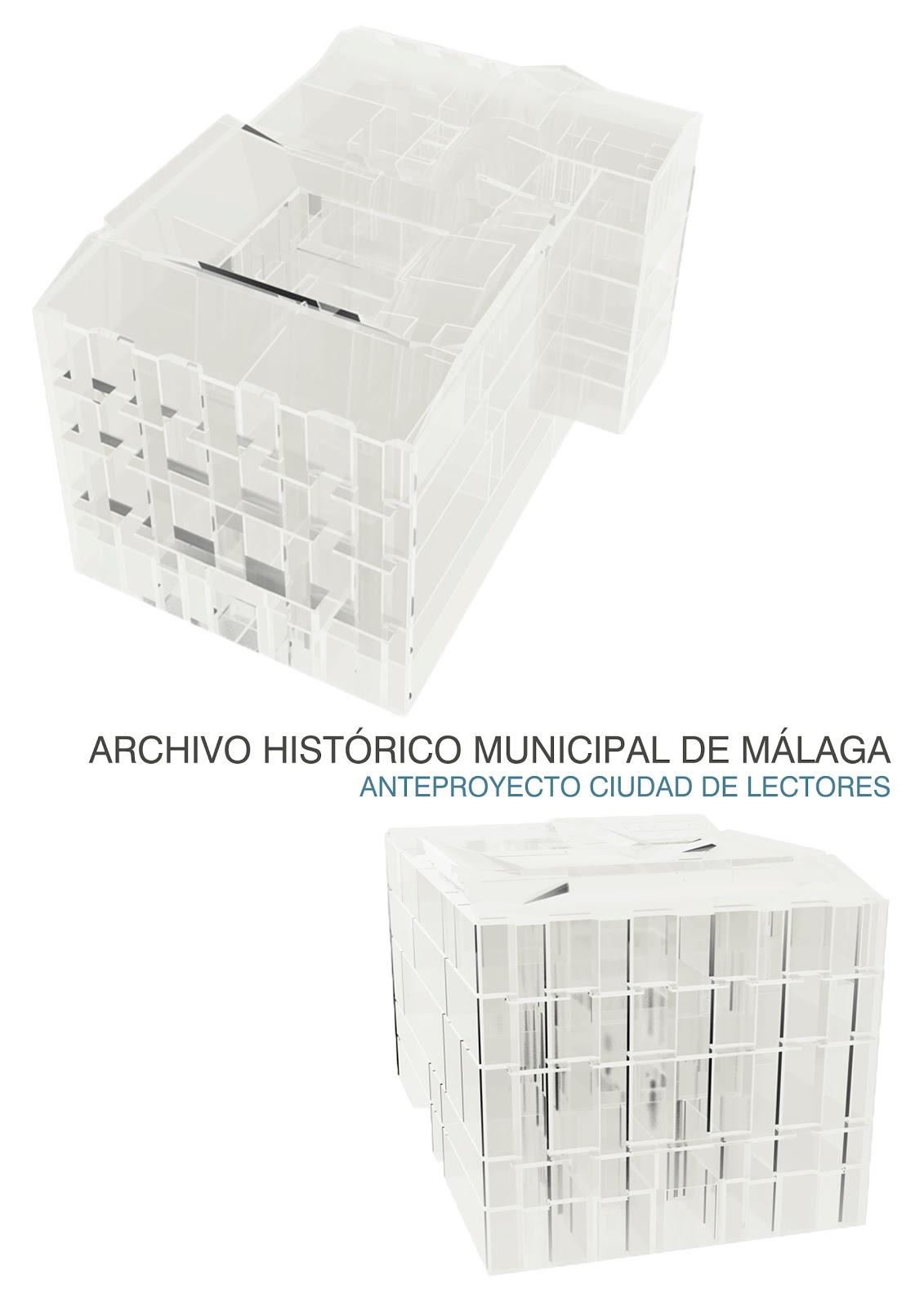 Sk studio ciudad de lectura espacio 05 - Ets arquitectura malaga ...