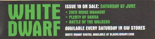 Avance de la White Dwarf Weekly 19