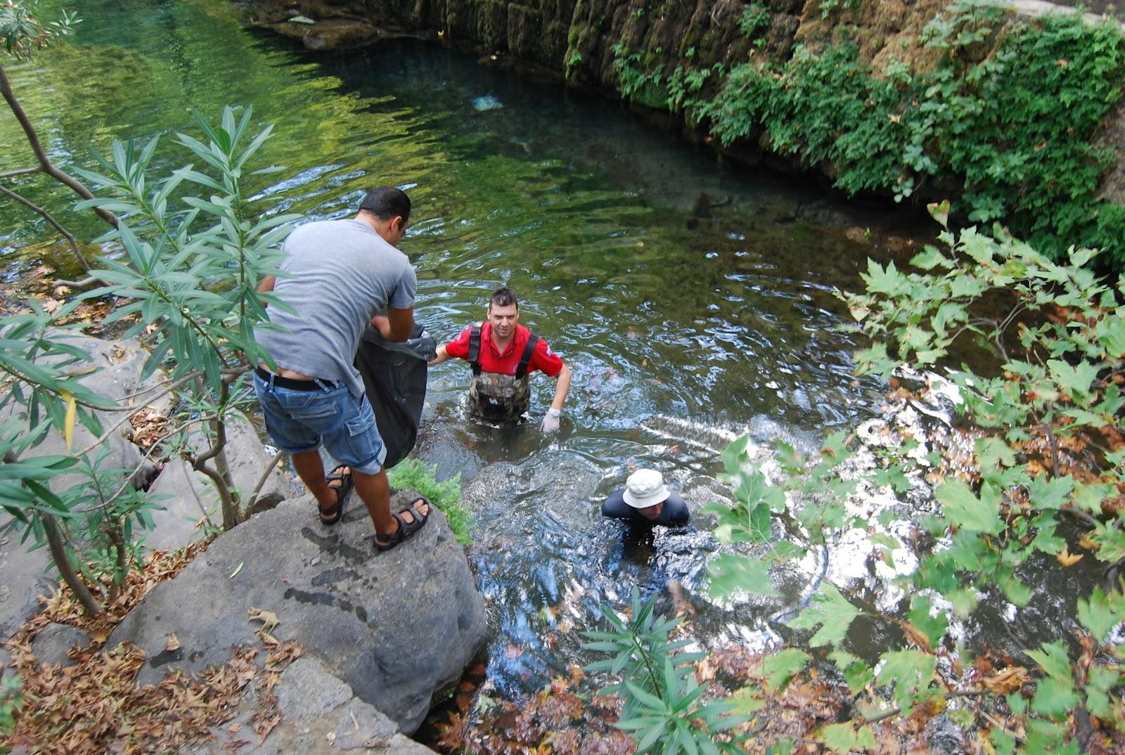 Καθαρισμός του ποταμού έρκυνα και του