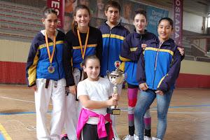 TERCEROS CLASIFICADOS CAMPEONATO DE MADRID INFANTIL 2012