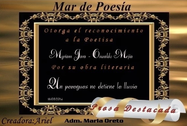 """UN PARAGUAS NO DETIENE LA LLUVIA"""