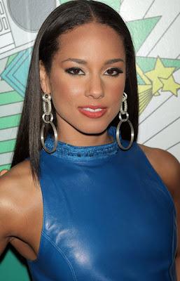 Alicia Keys Sterling Dangle Earrings