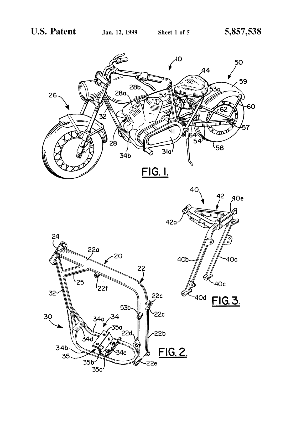 Confederate Chassis Patent