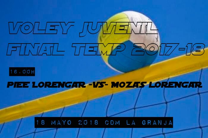 FINAL VOLEY JUVENIL 18/05/2018