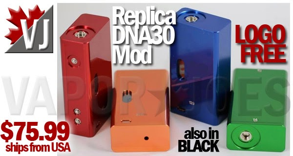 Replica DNA30 Box Mod in 5 Colors - LOGO FREE