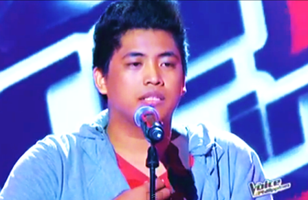 Myk Perez of The Voice of the Philippines