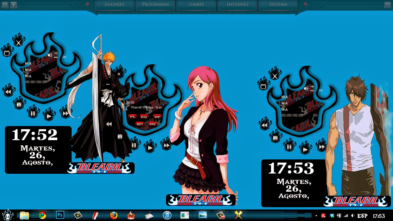 [ Theme Win 8 ] Bleach 5