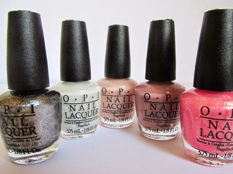 opi trend on ten polishes