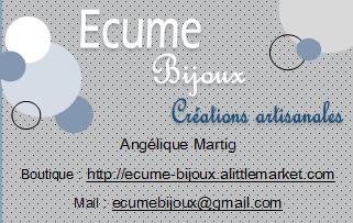 Ecume bijoux (anciennement Les Bijoux d'Angie)