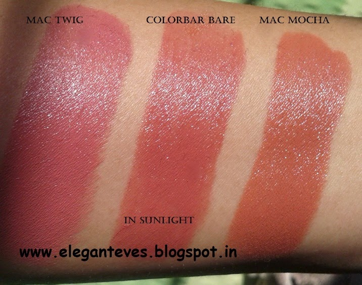 "Célèbre Review of MAC Satin Lipstick ""Mocha"" - Elegant Eves NP44"