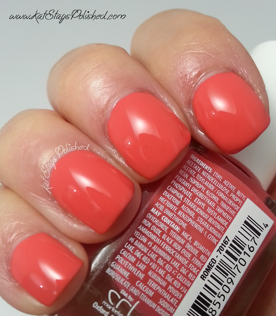 JulieG Nail Polish - The Perfect Pair - Romeo