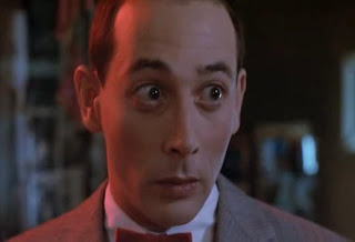 Pee-Wee big eyed stare