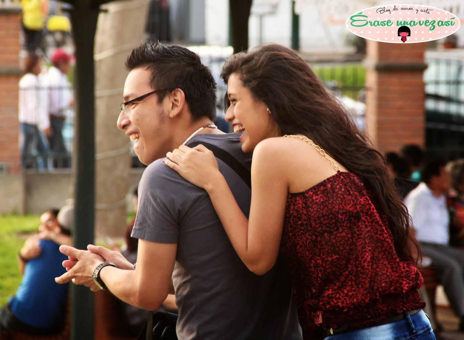 fotos espontaneas, frase de amor, fotos de parejas felices