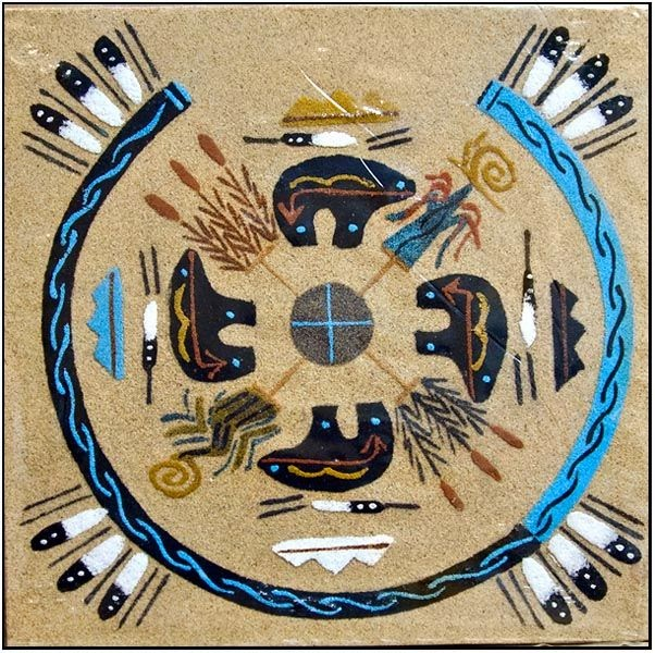 navajo sand painting coloring pages - photo#37
