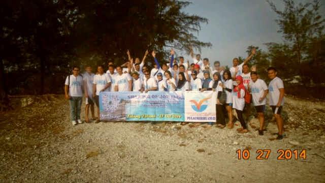 wisatawan pulau tidung