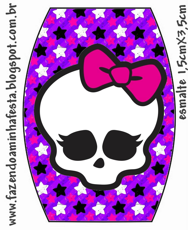 Free Printable Monster High Labels Monster High Printable Labels