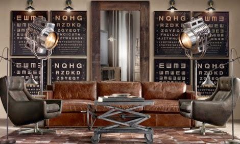 Salas estilo industrial salas con estilo - Salon estilo industrial ...