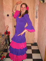 Me wearing a spanish dress