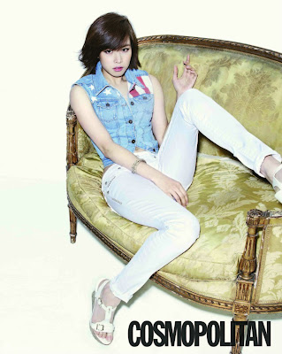 Jo Yoon Hee - Cosmopolitan Magazine May Issue 2013