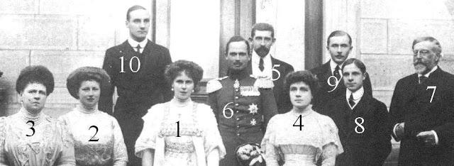 Saxe-Cobourg, Orleans y Borbón, Hohenzollern  et Battenberg