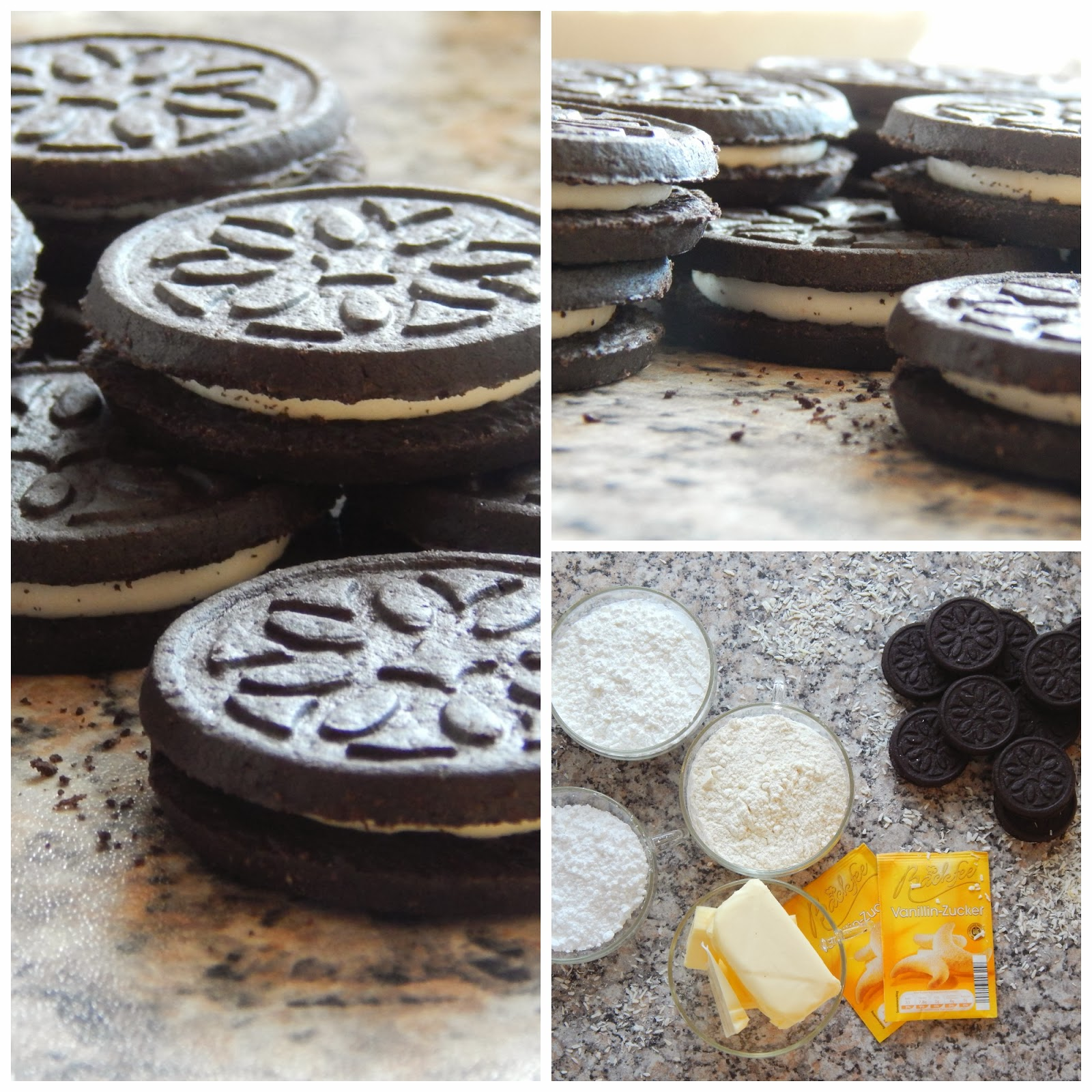 Reverse White Chocolate Crackle Cookie With Oreo Cocoa Powder Recipe ...