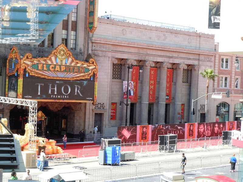 Thor Hollywood premiere El Capitan