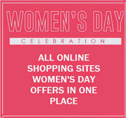 Women's Day Offers 2015