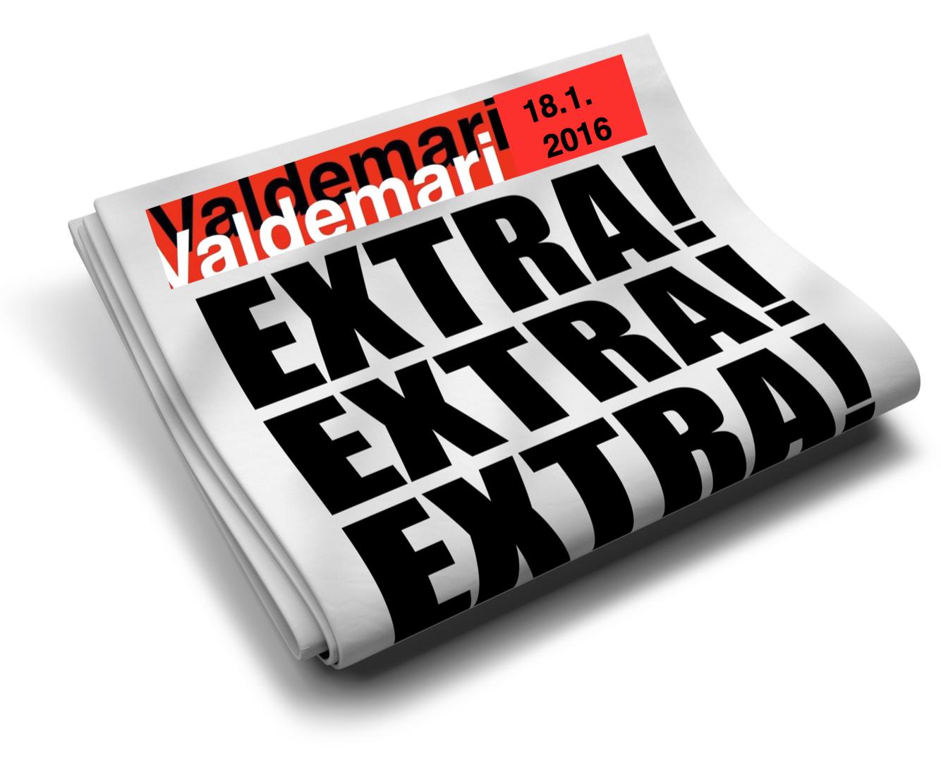 Tuoreita Valdemarin uutisia