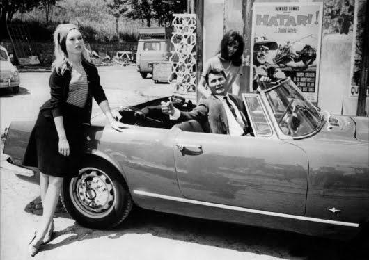 Brigitte Bardot y Jack Palance en 'El desprecio', de Jean-Luc Godard