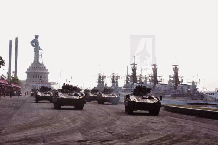 Parede Alutsista TNI Jelang HUT TNI ke 69