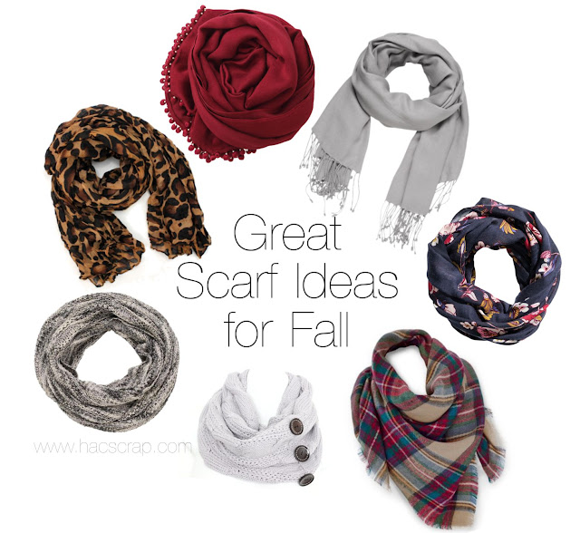 Great Scarf Ideas for Fall - Real Style for Real Women