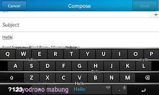 Tip cara menggunakan Blackberry Z10-5