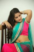 Anusha half saree photos gallery-thumbnail-6