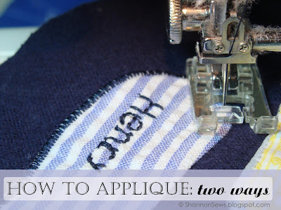 How to Applique Tutorial