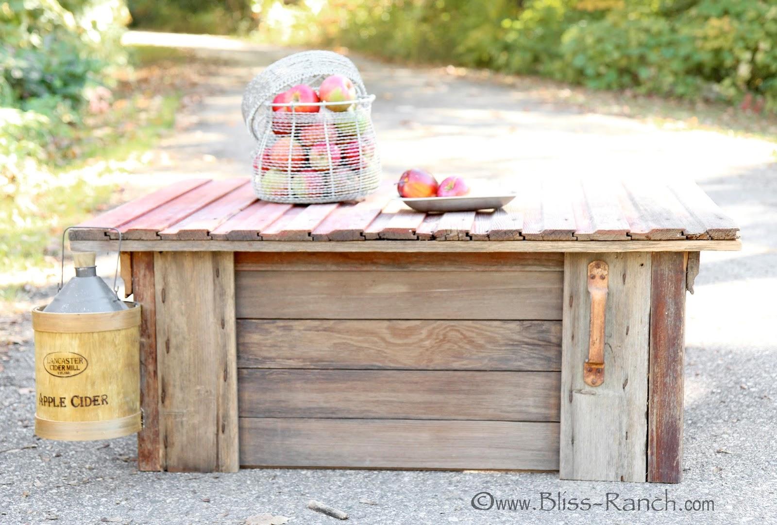Barn Wood Coffee Table Bliss-Ranch.com