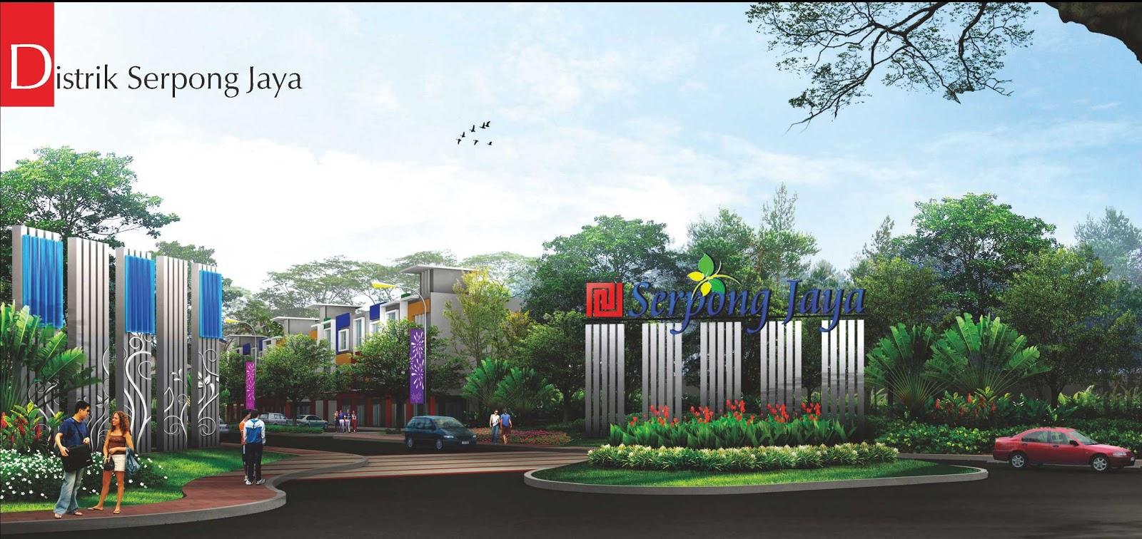 Perumahan Serpong Jaya Cluster De Garden Foto Serpong Jaya