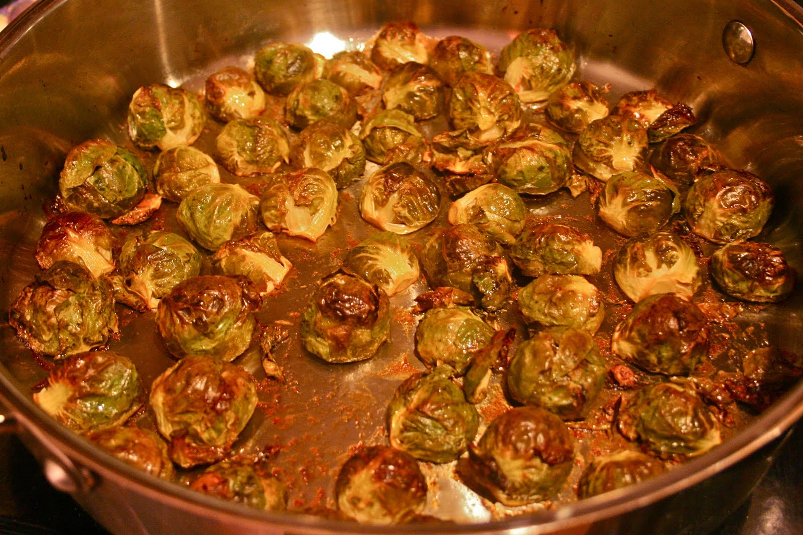 Color Me Green Sweet And Spicy Sriracha Brussels Sprouts