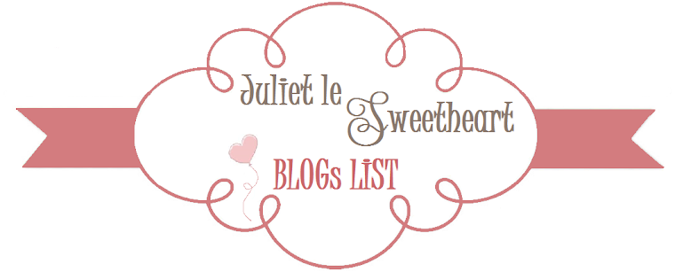 Juliet le Sweetheart ♡ Blogs List