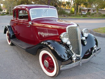 old ford cars - 1934 ford deluxe - old ford trucks