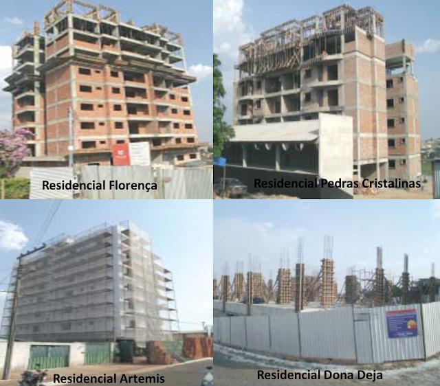 Condomínios e residenciais estão sendo construídos em Cristalina Goiás