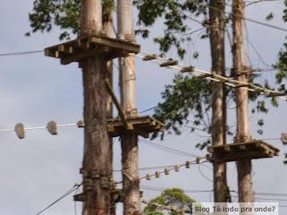 arvorismo na Selva Sassiri