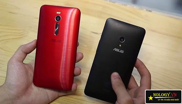So sánh chi tiết Asus Zenfone 2 và Asus Zenfone 5.