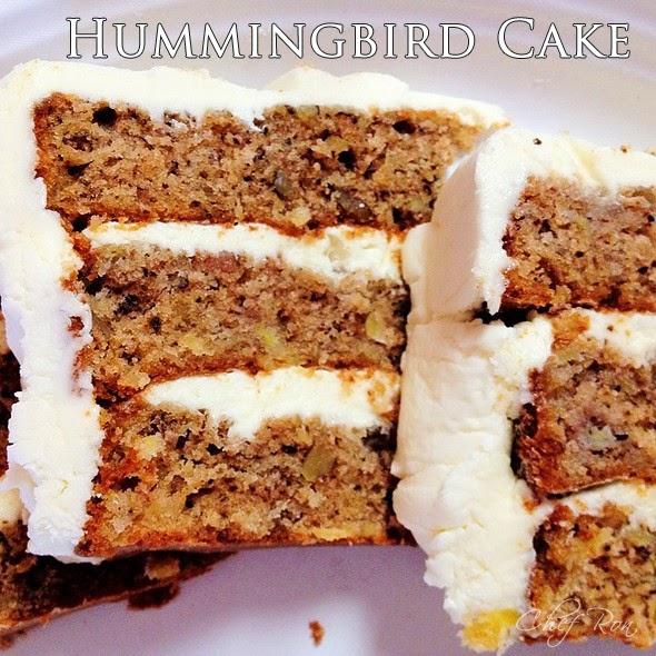 Humming Bird Cake From Box Mix