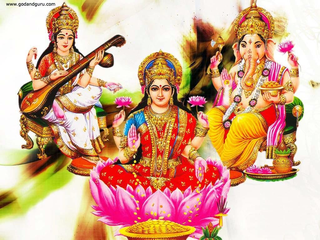 diwali Lakshmi Ganesh Wallpaper