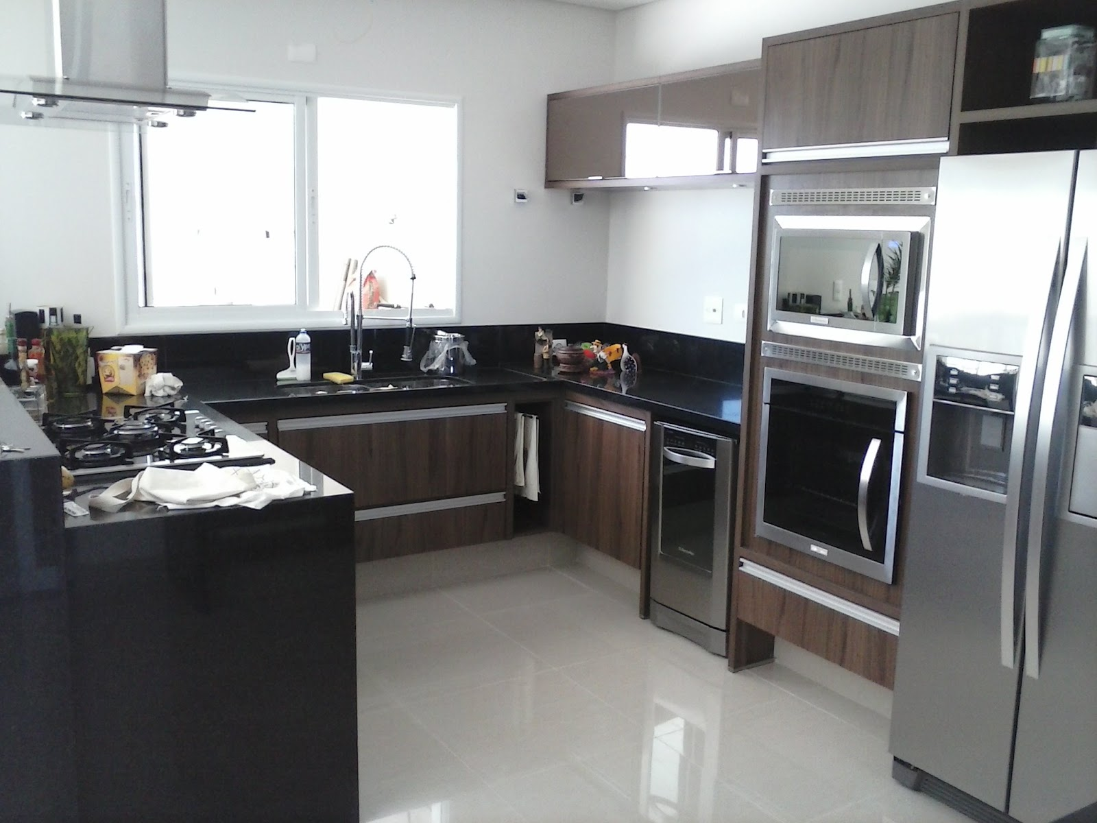 Móveis & Design o Bom Gosto em sua casa: cozinha moderna alto padrão #5B4D46 1600 1200